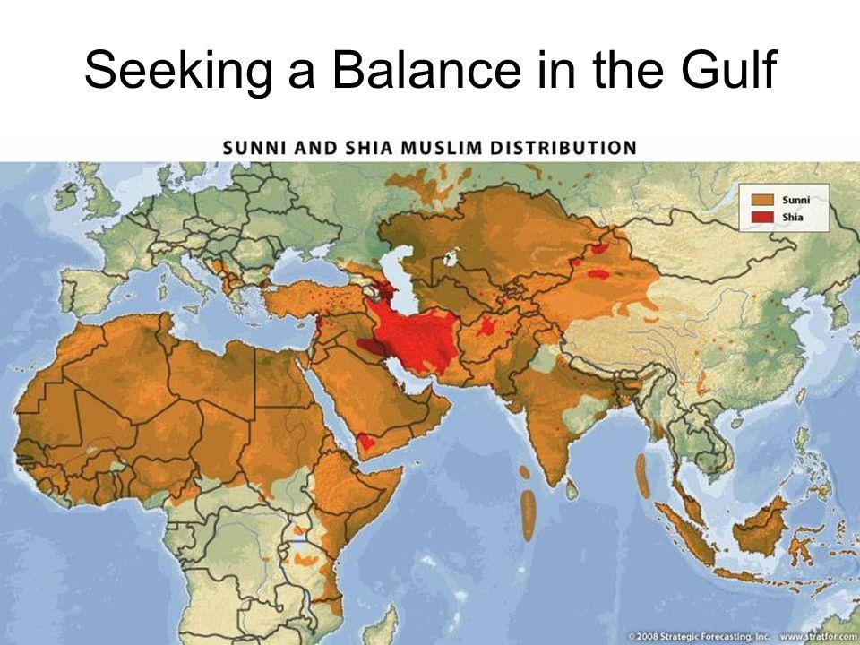 Seeking a Balance in the Gulf