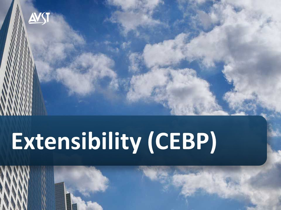 Extensibility (CEBP)