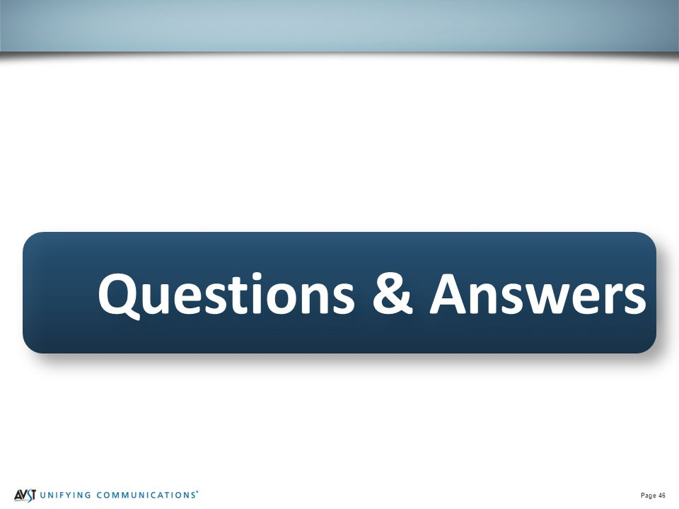 Page 46 Questions & Answers
