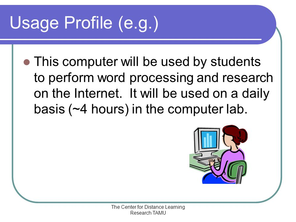The Center for Distance Learning Research TAMU Where do you get info.