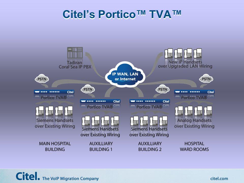 Citel's Portico™ TVA™
