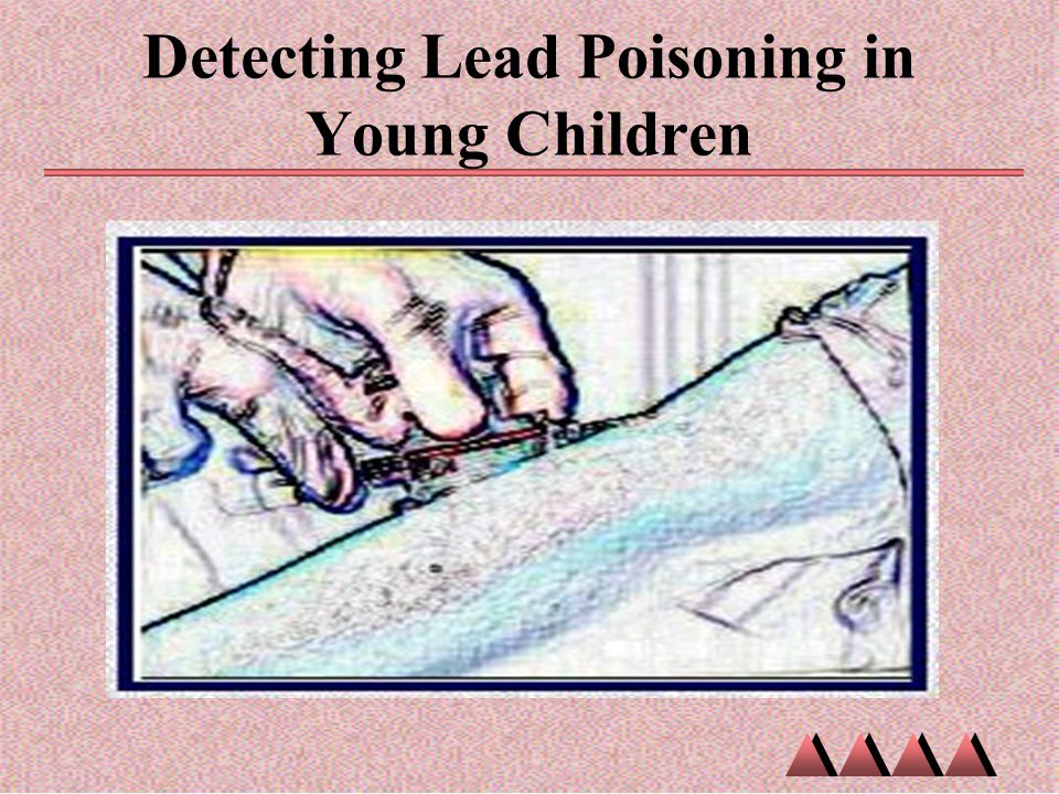 Detecting Lead Poisoning in Young Children