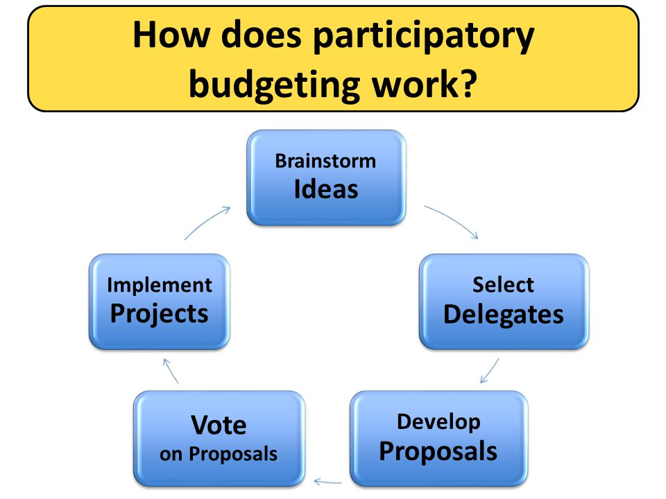 Where has participatory budgeting worked.