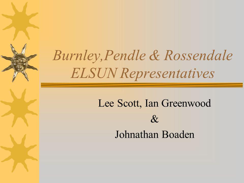 Burnley,Pendle & Rossendale ELSUN Representatives Lee Scott, Ian Greenwood & Johnathan Boaden