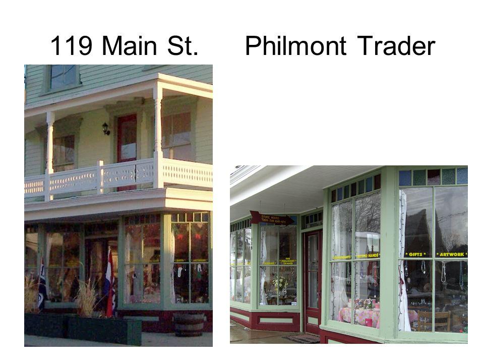 119 Main St. Philmont Trader