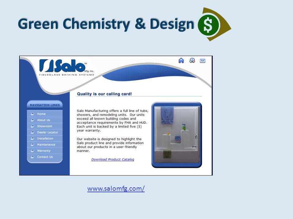 Green Chemistry & Design www.salomfg.com/