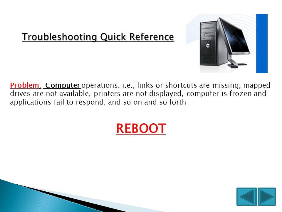 Problem: Computer operations.