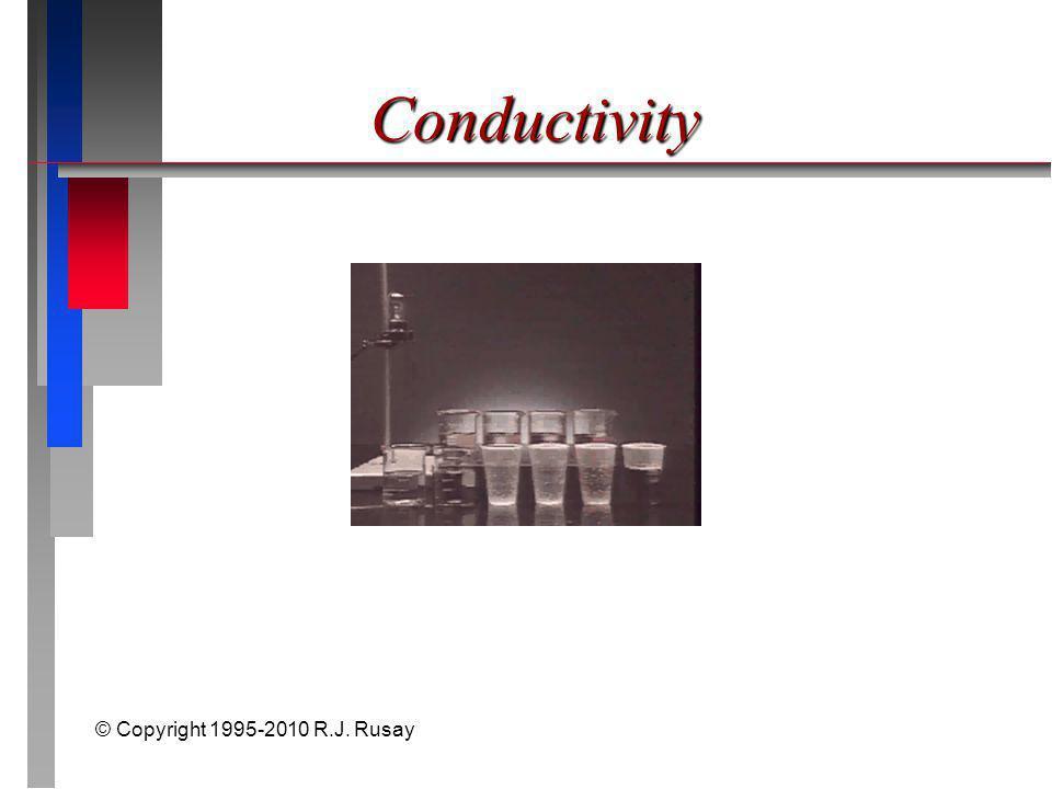 © Copyright 1995-2010 R.J. Rusay Conductivity