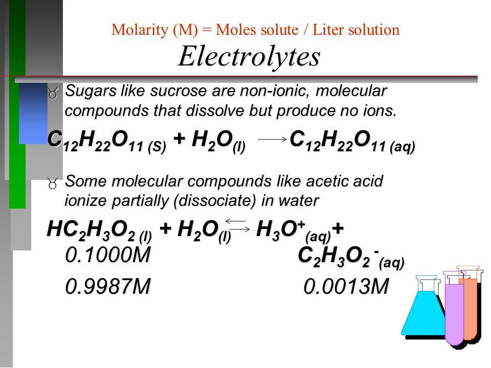 Aqueous Reactions: Acid-Base