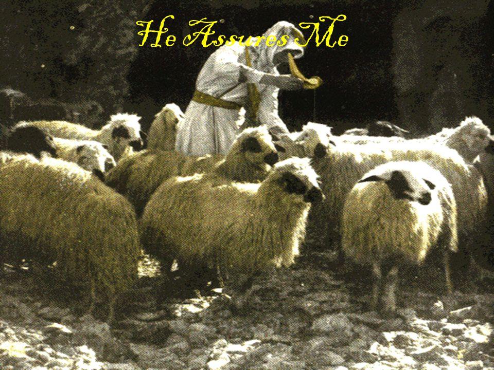 He Assures Me