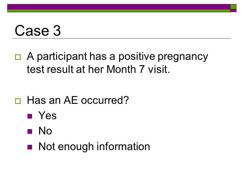 Case 4  A participant reports new vulvar erythema at her Month 10 visit.