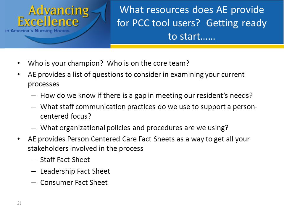 What resources does AE provide for PCC tool users.