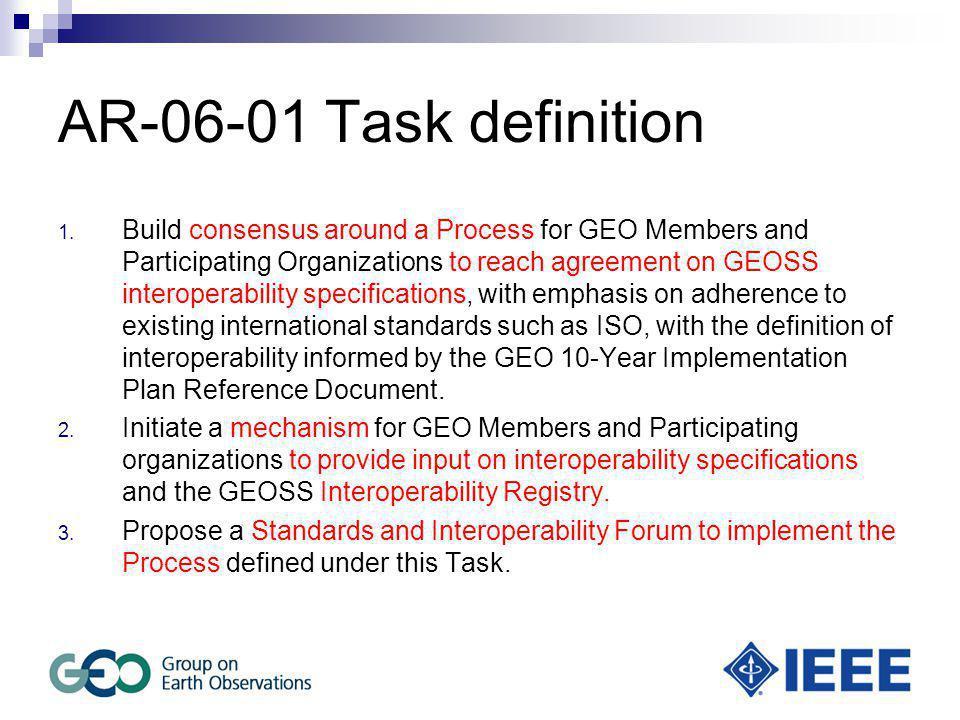 AR-06-01 Task definition 1.