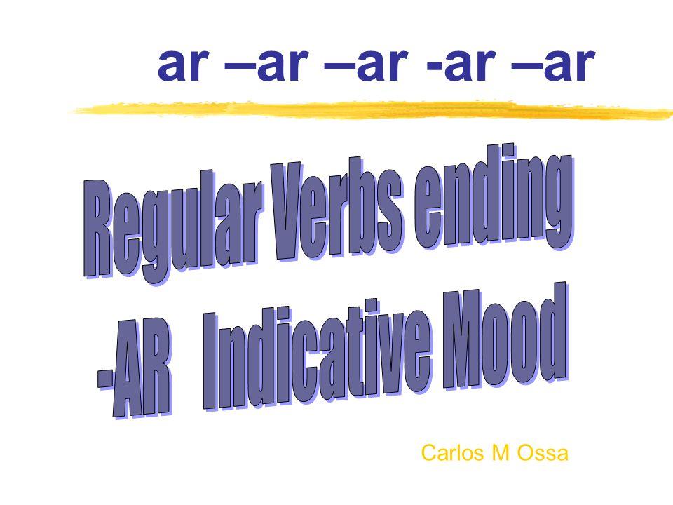 Subject Pronouns cant -com -escrib - Yo Tú Él/Ella/Ud.
