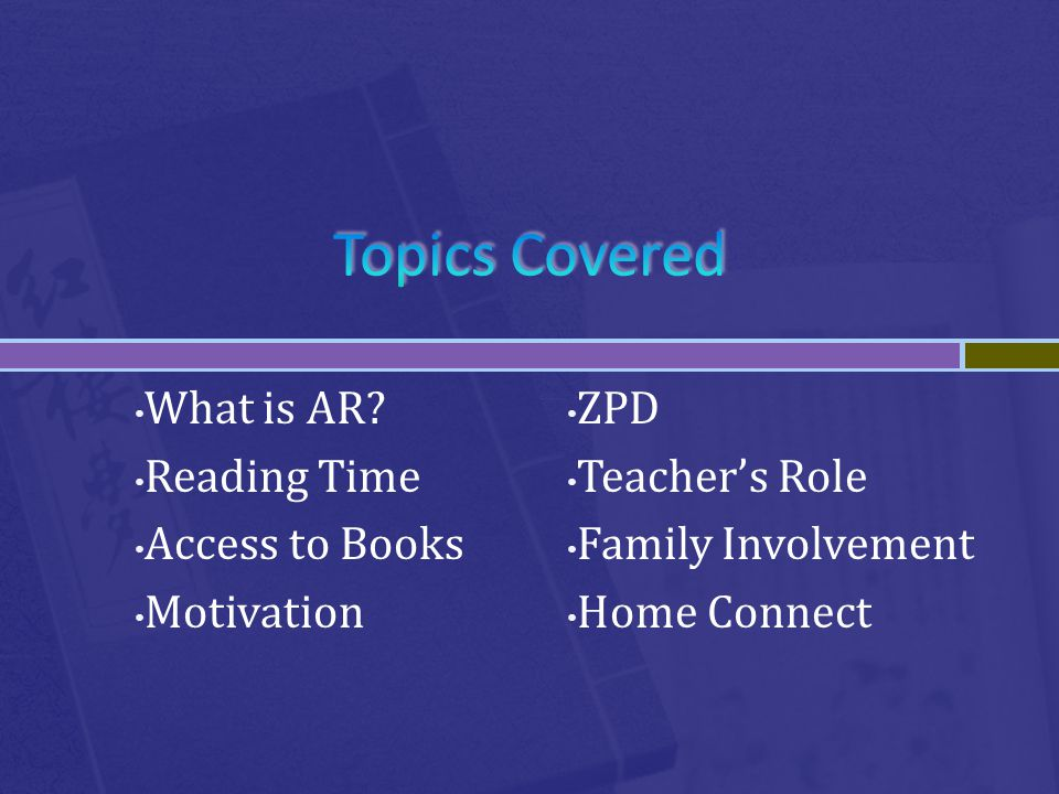 What is AR.