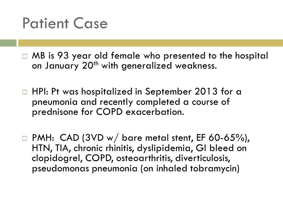 Disjointed Care  Hospital-based vs.