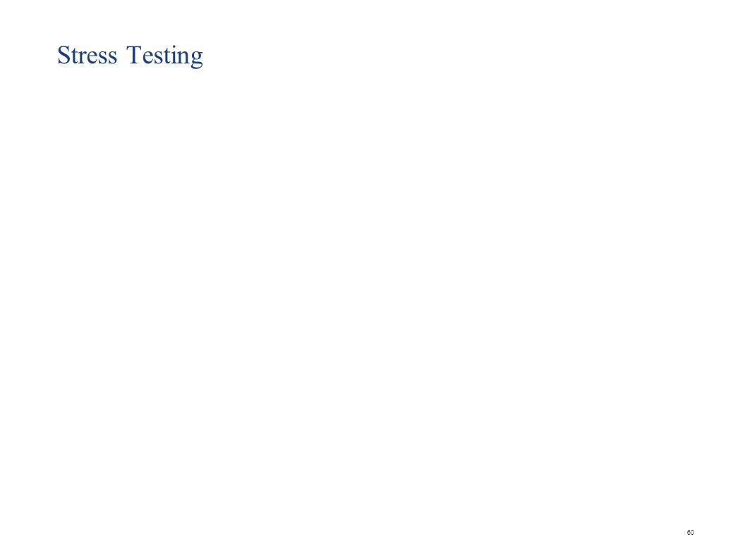 60 Stress Testing