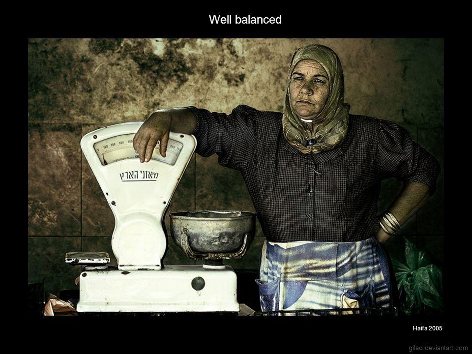 gilad.deviantart.com Well balanced Haifa 2005