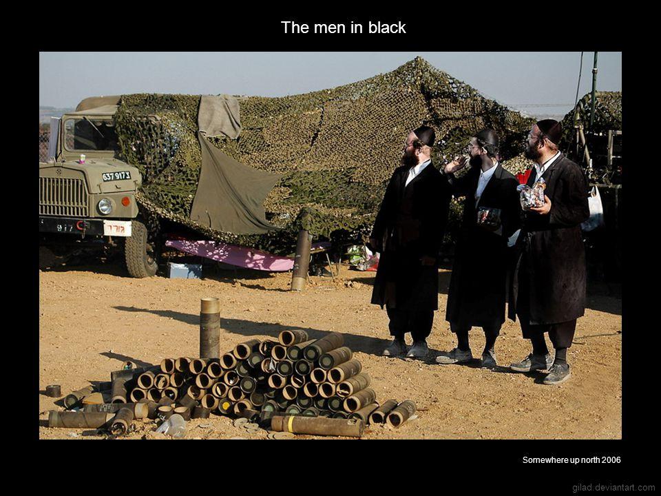 gilad.deviantart.com The men in black Somewhere up north 2006