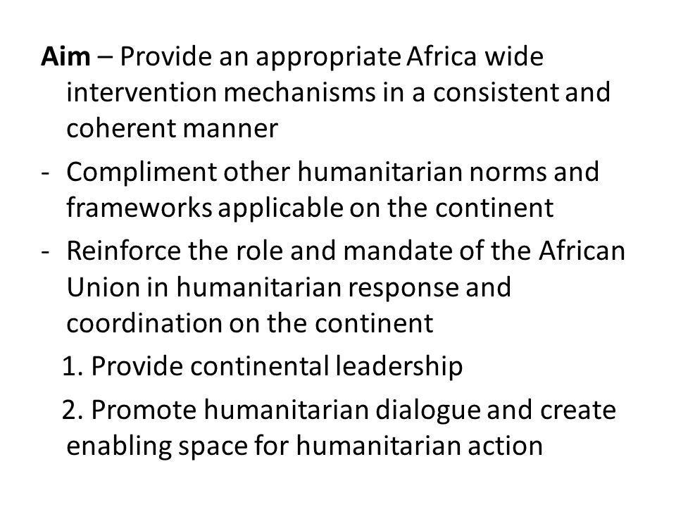 3.Coordination at strategic level thro dvpt. of common strategies, priorities and shared goals..