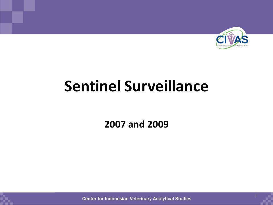 Sentinel Surveillance 2007 and 2009 4