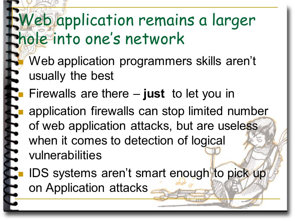 Questions and Answers Sample questions, pick one: ;---------) Why another web hacking tool.