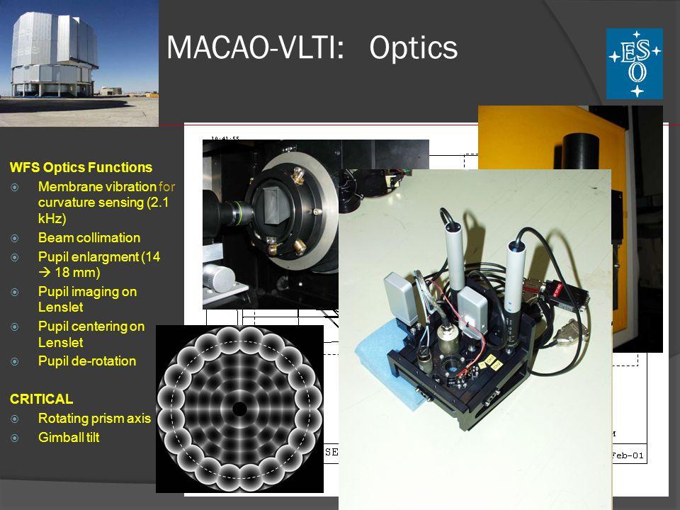 MACAO-VLTI: Fiber Bundle Heptagon Micro-Lens Microfab Micro-Lens