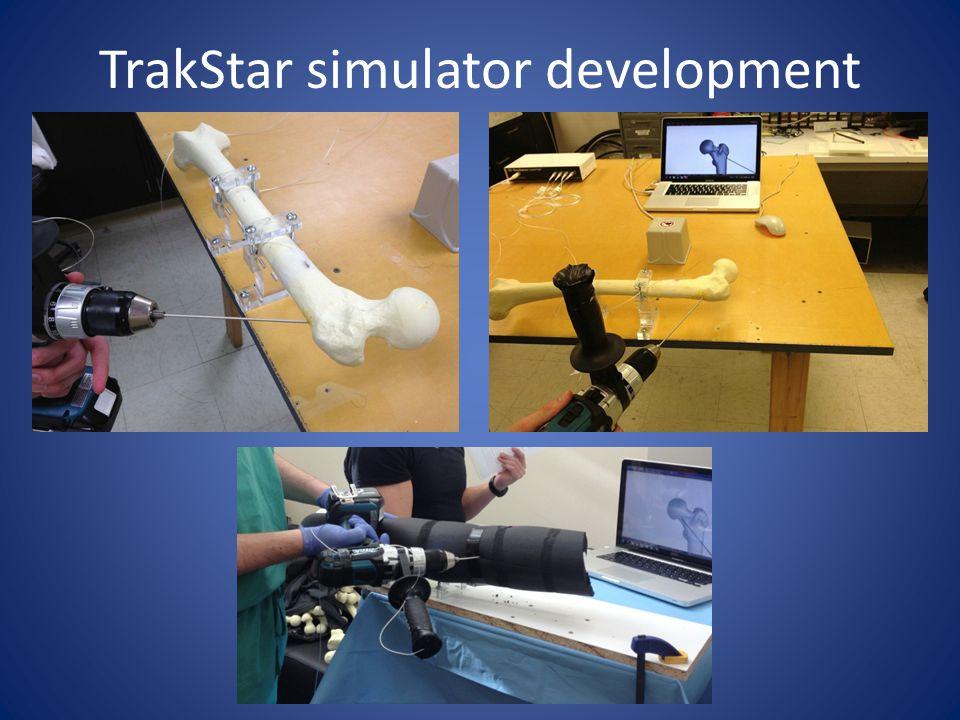 TrakStar simulator development