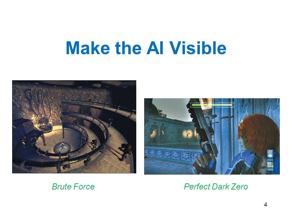 4 Make the AI Visible Brute ForcePerfect Dark Zero