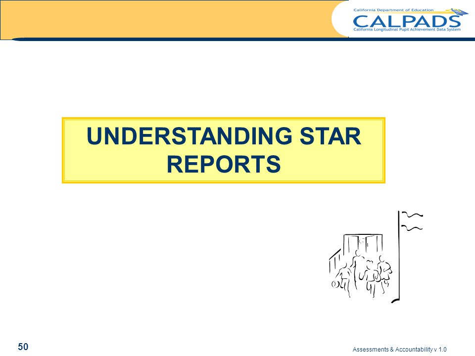 Assessments & Accountability v 1.0 50 UNDERSTANDING STAR REPORTS