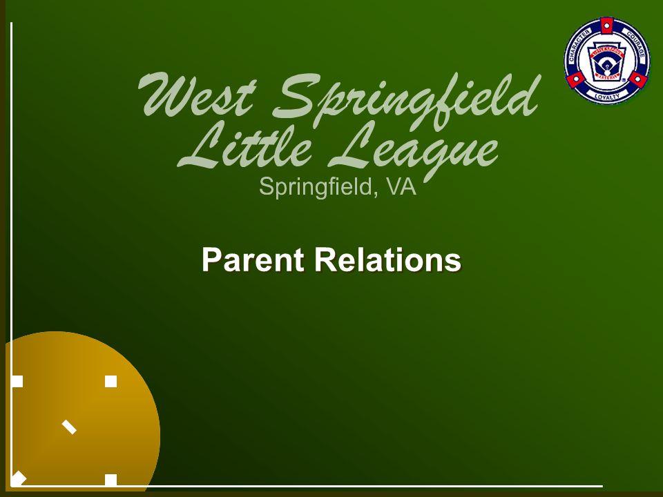 Parent Relations