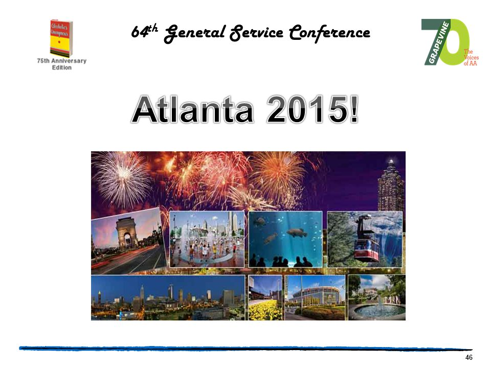 46 64 th General Service Conference