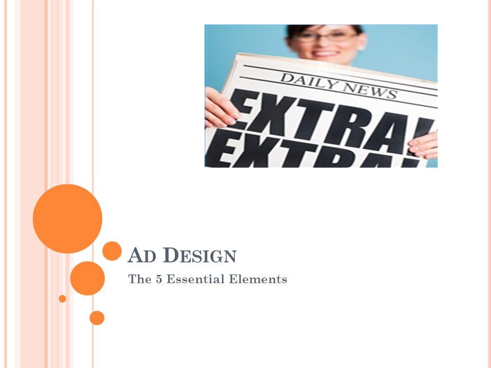 A D D ESIGN The 5 Essential Elements