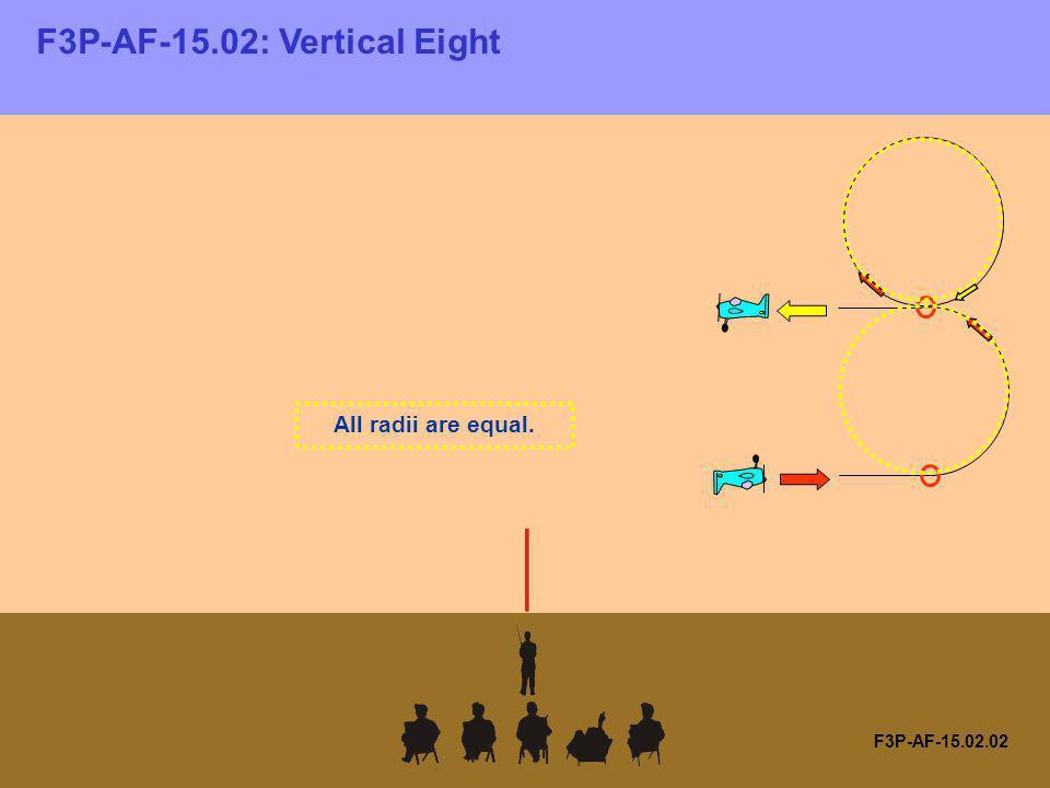 F3P-AF-15.02: Vertical Eight F3P-AF-15.02.02 All radii are equal.