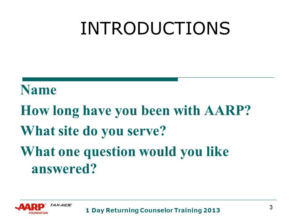 64 AZ Returning Counselor Training 2013