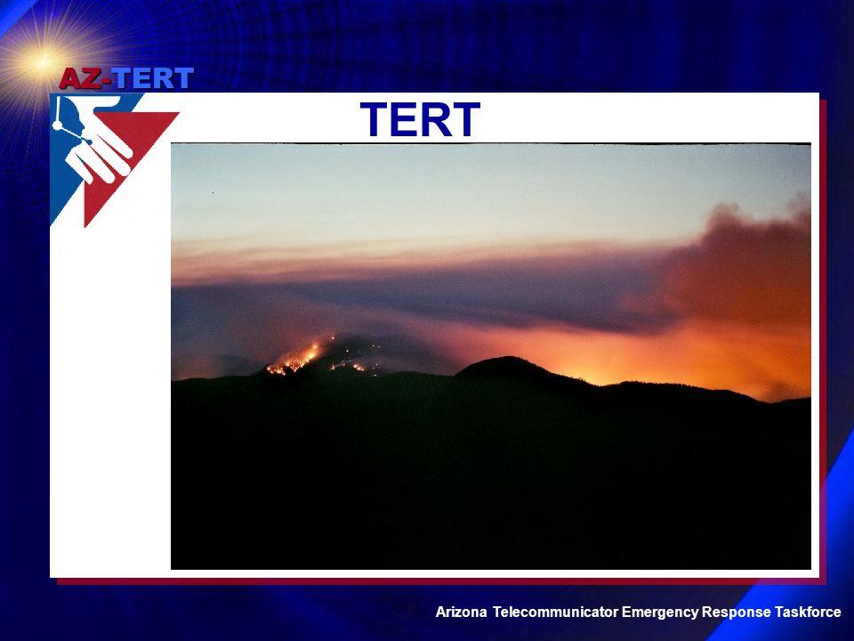 AZ-TERT Arizona Telecommunicator Emergency Response Taskforce Questions / Comments Tami deRuiter AZ-TERT State Coordinator tami.deruiter@phoenix.gov www.njti-tert.org/