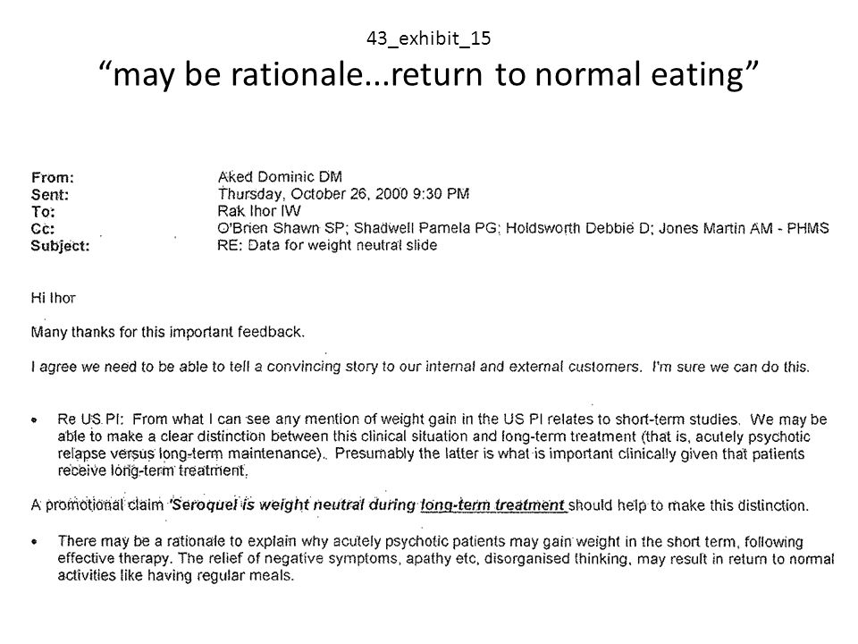 43_exhibit_15 may be rationale...return to normal eating