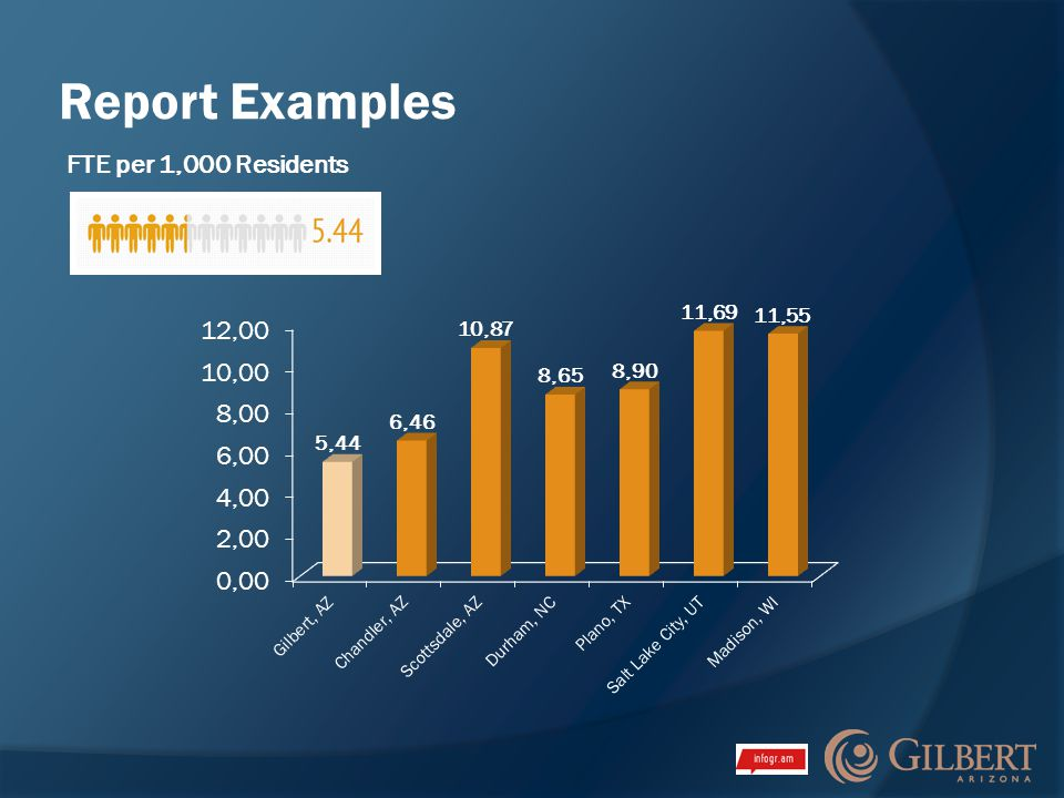 Report Examples FTE per 1,000 Residents