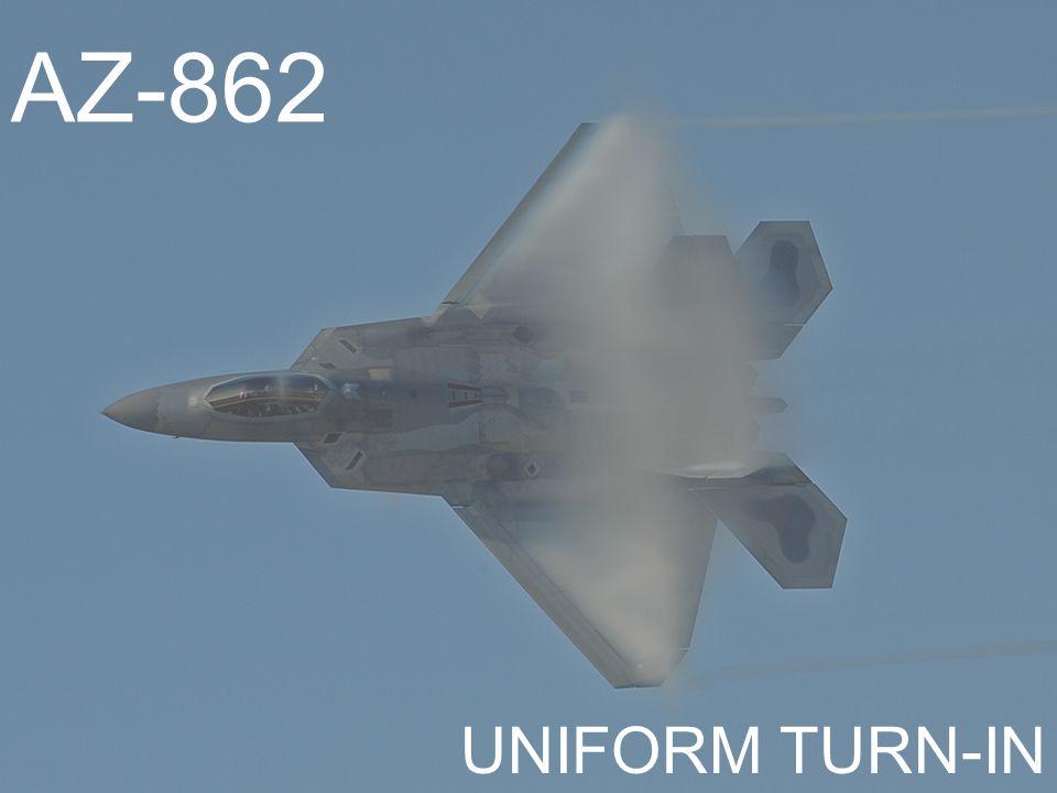 AZ-862 UNIFORM TURN-IN