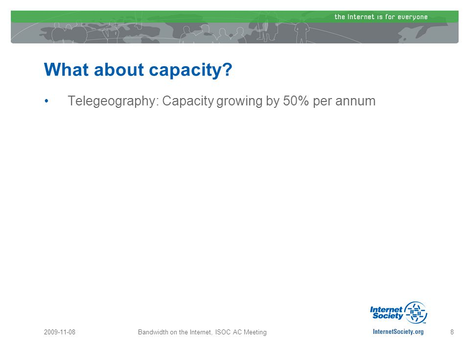 What about capacity.