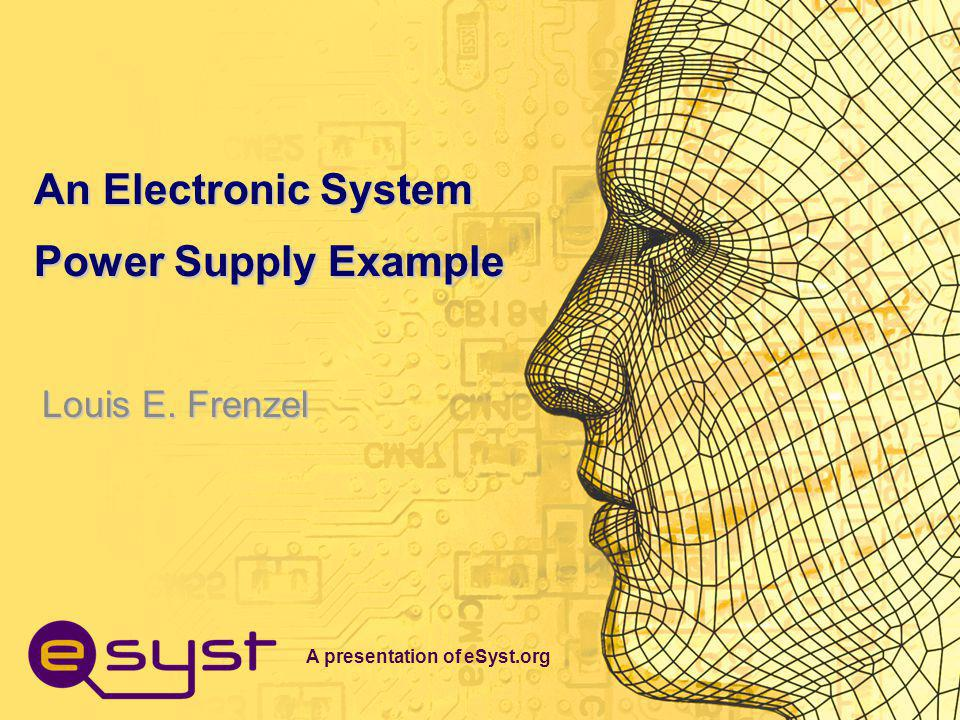 A presentation of eSyst.org Prerequisites To understand this presentation, you should have the following prior knowledge: –Draw the structure of an atom, including electrons, protons, and neutrons.