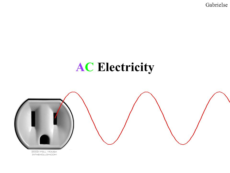 AC Electricity Gabrielse