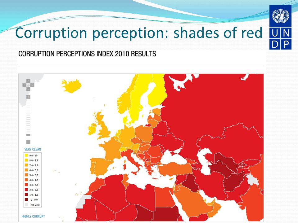 Corruption perception: shades of red Bratislava, 28-29 March 2011