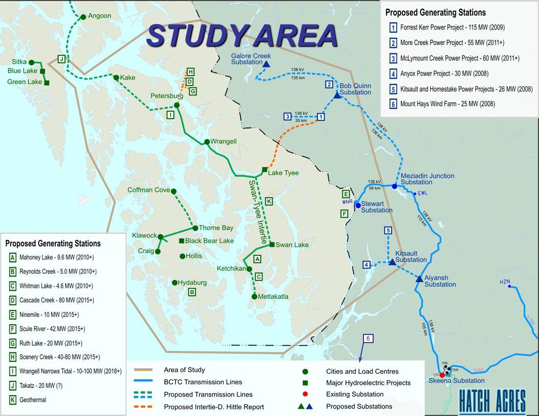 6 STUDY AREA