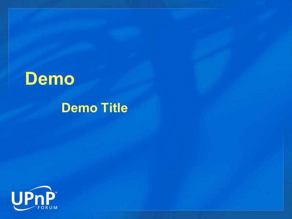 Demo Demo Title