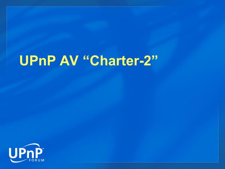 UPnP AV Charter-2