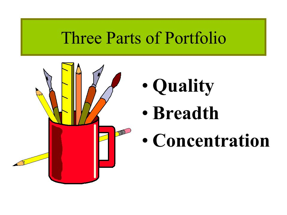 Three Parts of Portfolio Quality Breadth Concentration