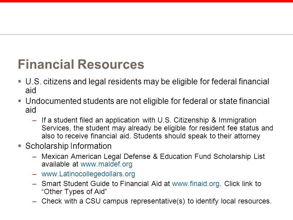 Financial Resources  U.S.