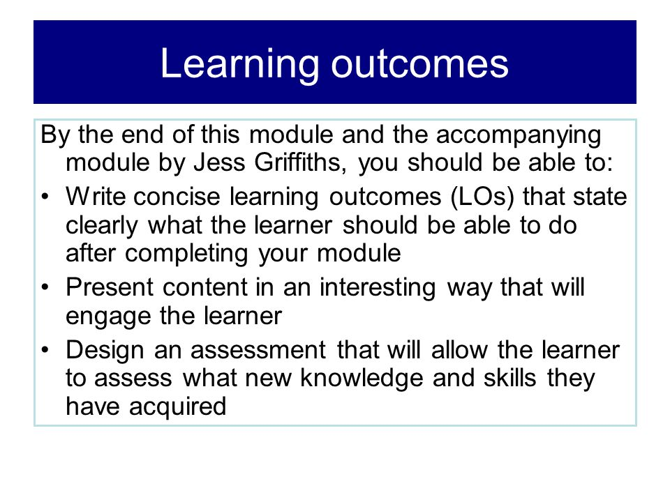 Engaging the learner - 1 This approach is best when the learner has little or no existing knowledge of the topic.