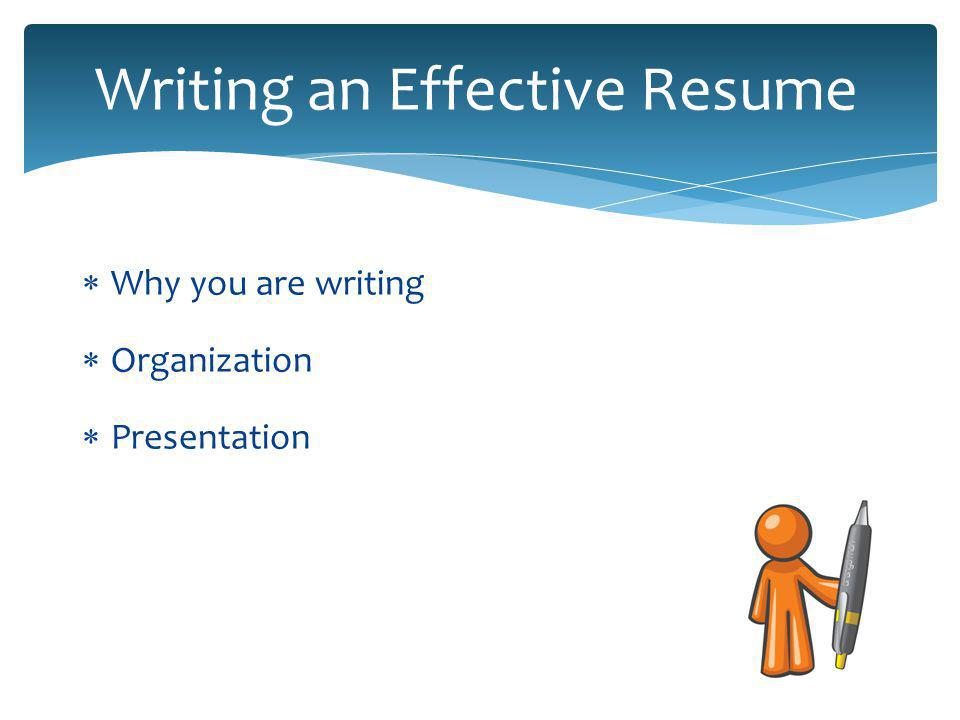 A resume gets you an interview  Find out which applicants are suitable  Choose a small number of candidates to interview  Same issue for proposals and grant applications